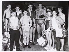 Robin Brew, GB Olympic Swimmer visits St Thomas ASC - 1984