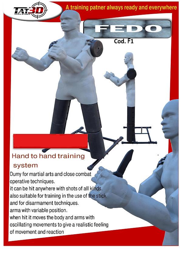Kapap Training Dummy
