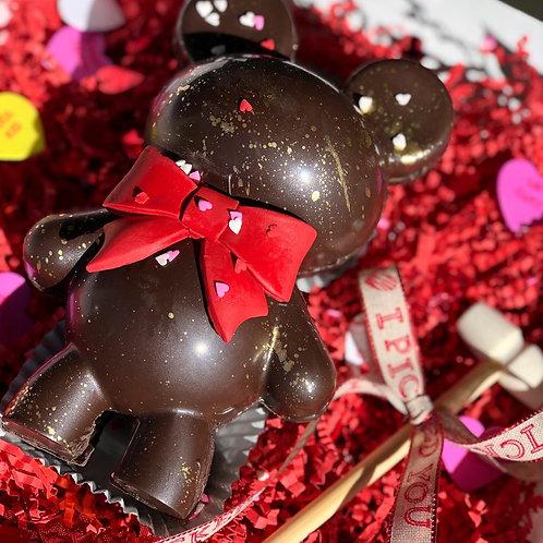 Break-open Chocolate Teddy Bear