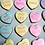 Thumbnail: SweetHeart multicolor cookies with sayings
