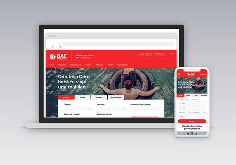 Credomatic - Web Design