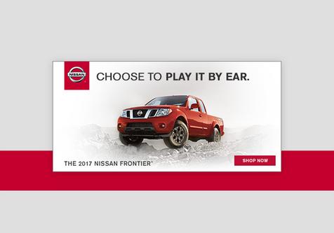 Nissan - Banner ads