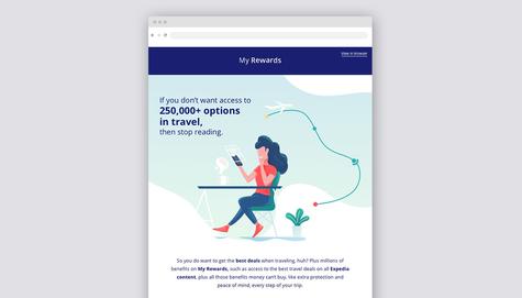My Rewards - Email Design