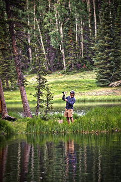 Fly Fishing Boulder Mountain Dixie National Forest Escalante Utah