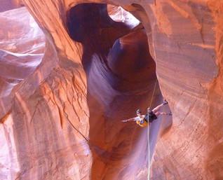 Canyoneering Escalante