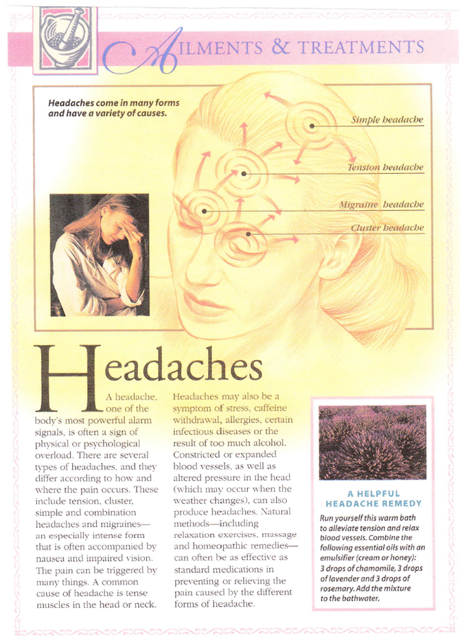 Headaches: Why They Happen and How To Alleviate Them