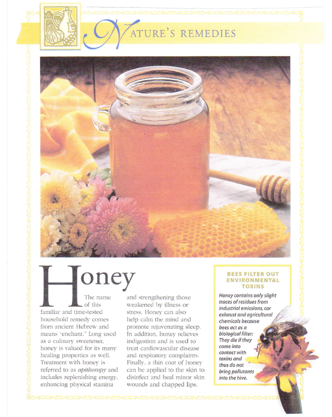Nature's Remedies: Honey
