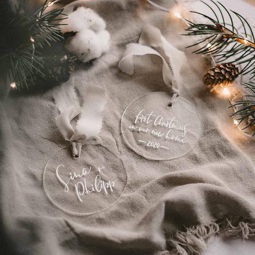 Weihnachtsanhänger Acryl