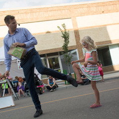 North Battleford Streetfest Magician Tyl
