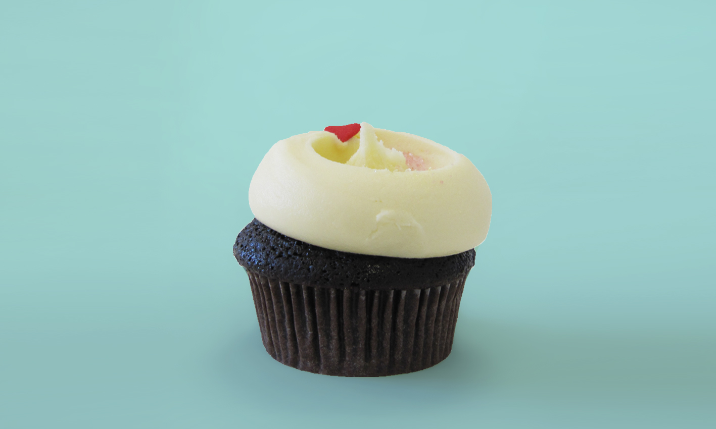 Vanilla Icing Cupcake