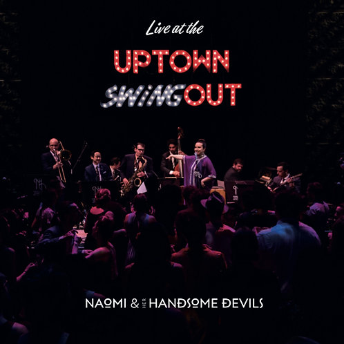 SIGNED Live at the Uptown Swingout CD