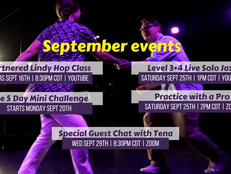 September Live Events