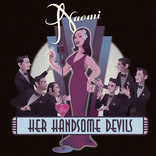 SIGNED Naomi & Her Handsome Devils CD