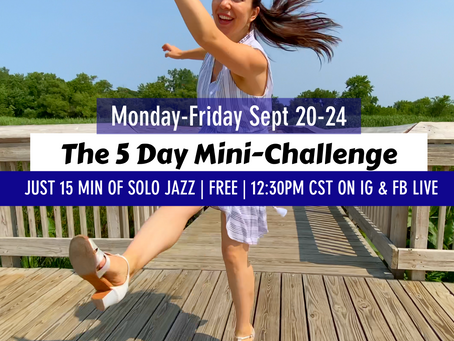 The 5 Day Mini-Challenge starts today!
