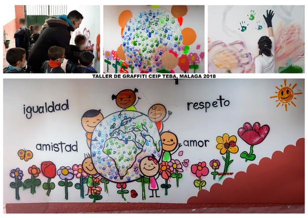 Taller de Graffitis - Grafeeling Lorca 2018