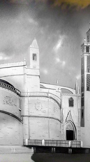 Catedral y Giralda - BN