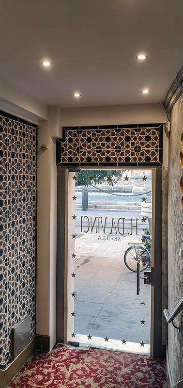 Azulejos Hotel Da Vinci
