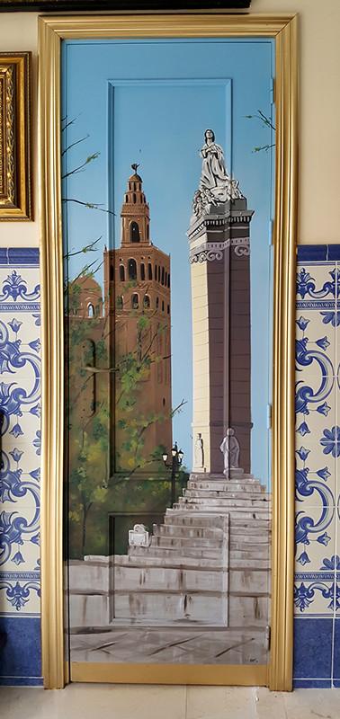 Giralda y Soledad - Puerta