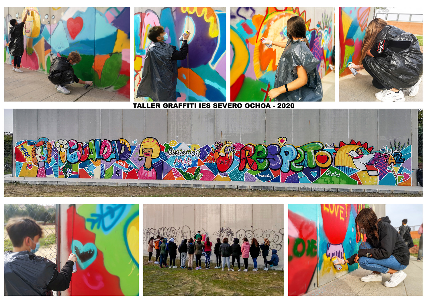 Taller de Graffitis Severo Ochoa 2020