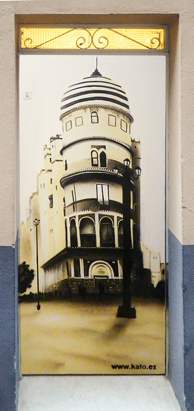 Edificio Fidella - Sepia