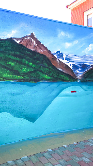 Lago en Seseña