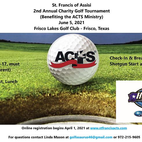 2021 ACTS Golf Tournament