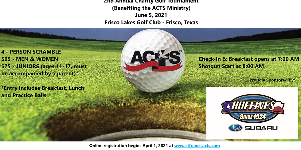 2021 ACTS Golf Tournament