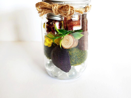 """The Inspiration behind the """"Fairy Welcoming Kit in a Jar"""""""