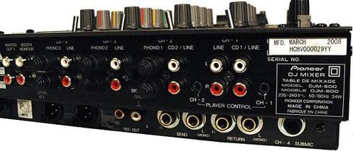 table de mixage djm 600