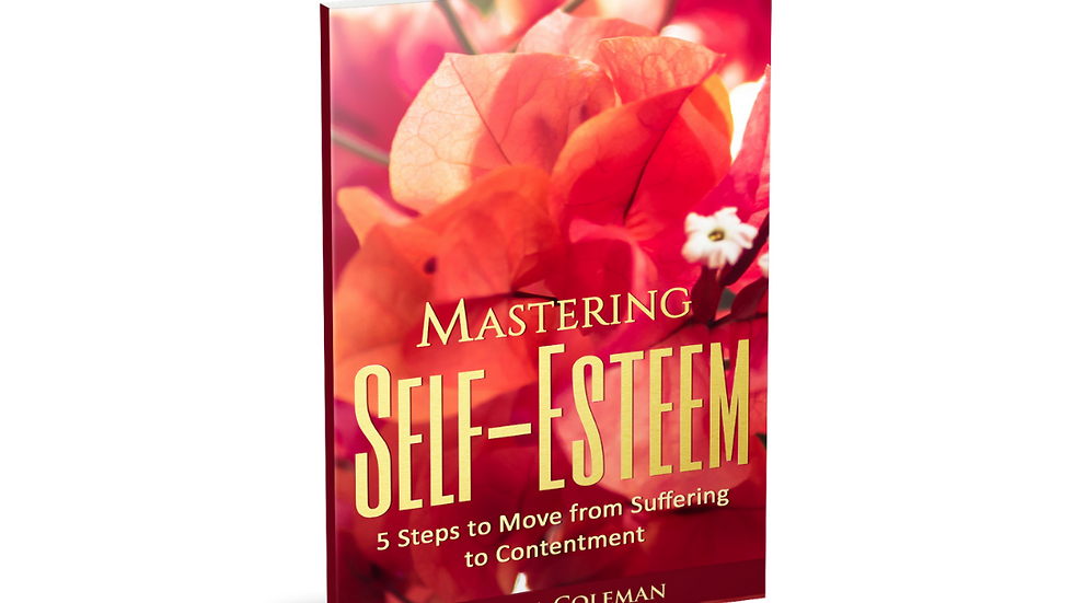 Mastering Self Esteem: 5 Steps to Move from Suffering to Contentment Paperback