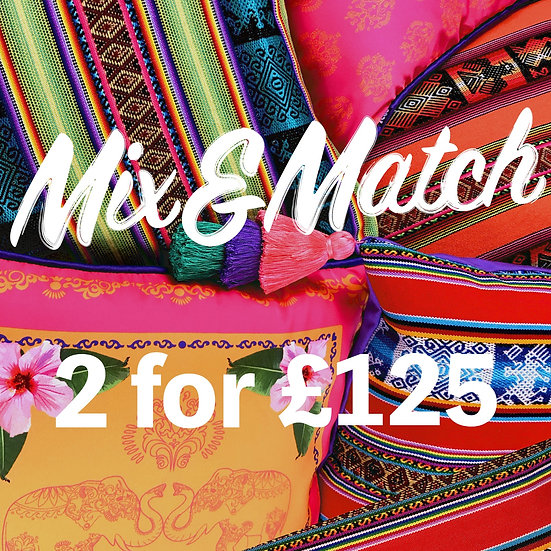 MIX & MATCH 3 FOR £125