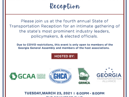 Member Event: State of Transportation Reception
