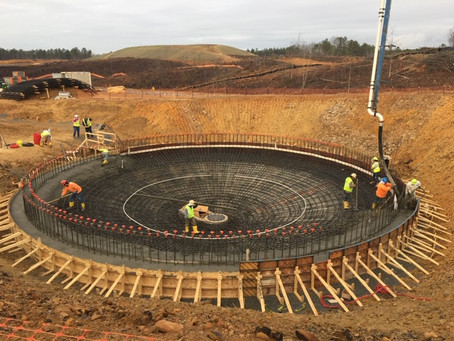 Concrete contributing to exceptional water quality in Paulding County, GA