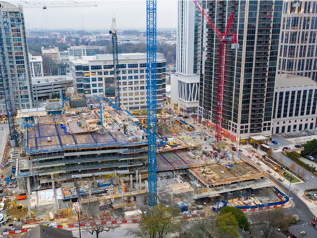 Ready Mix USA expected to provide 80,000 cubic yards of concrete to Midtown Atlanta Development