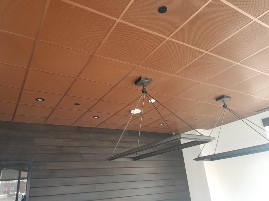 Metal Acoustical Ceilings