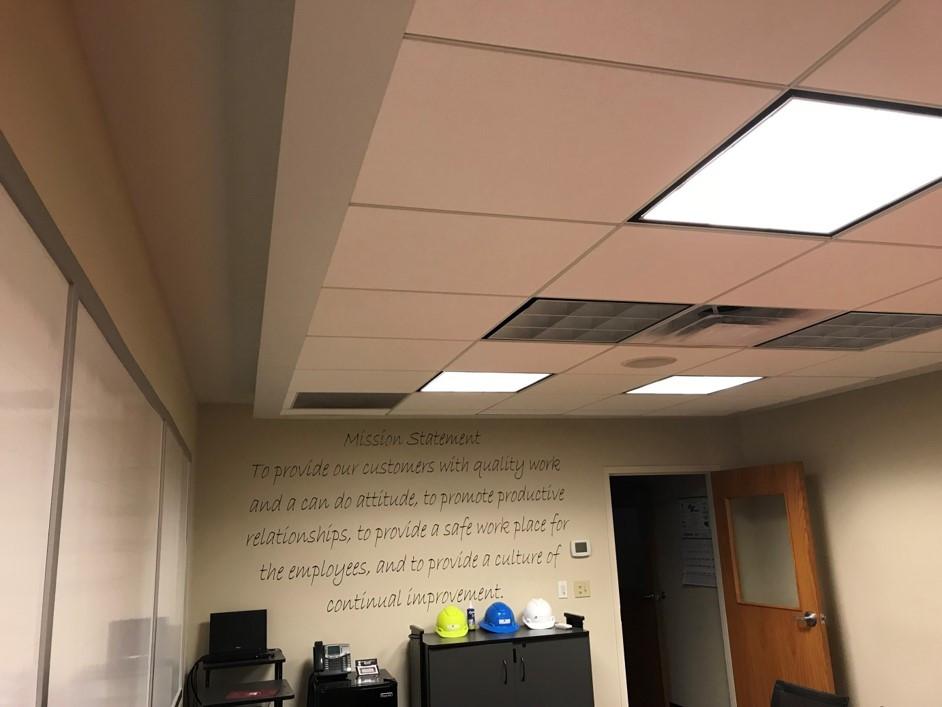 Floating Acoustical Ceilings
