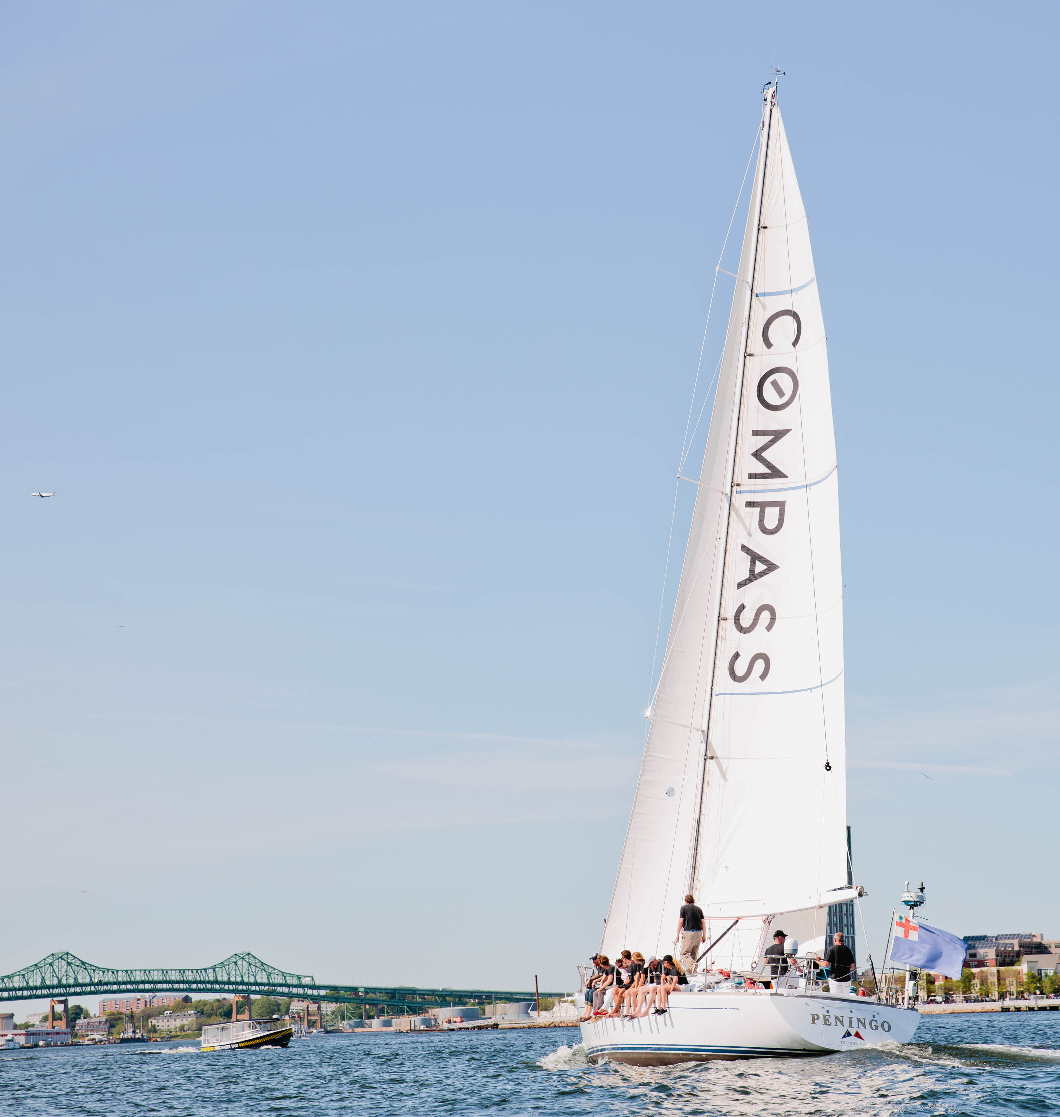 compas sailboat