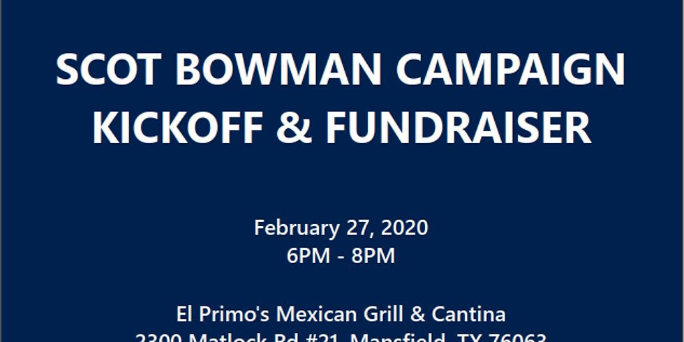 Campaign Kickoff & Fundraiser
