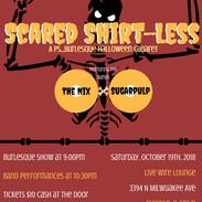 Scared Shirtless