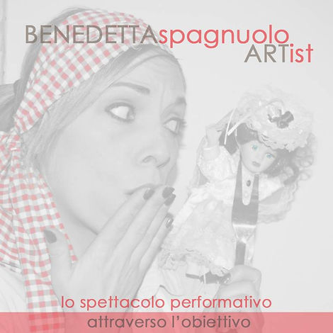 Copertina Catalogo - Benedetta Spagnuolo