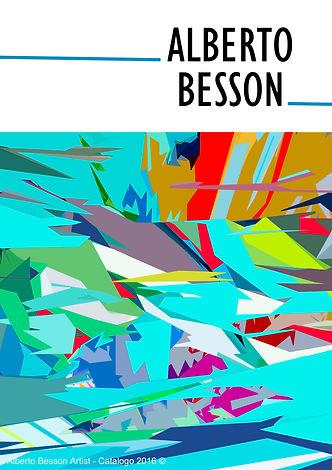 Copertina Catalogo Alberto Besson