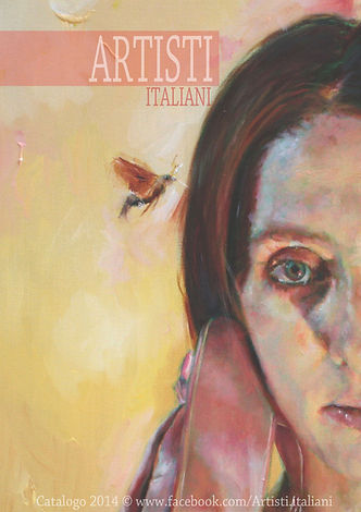 Copertina Catalogo Artisti Italiani 2014