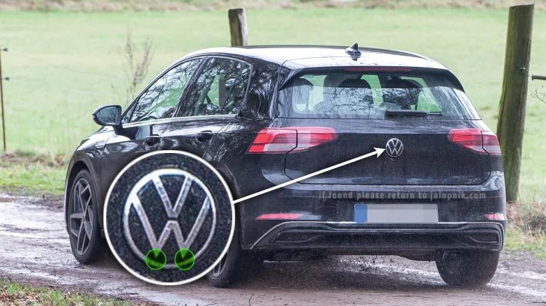 A oitava geração do Golf será o primeiro veículo comercial a apresentar o novo logo.
