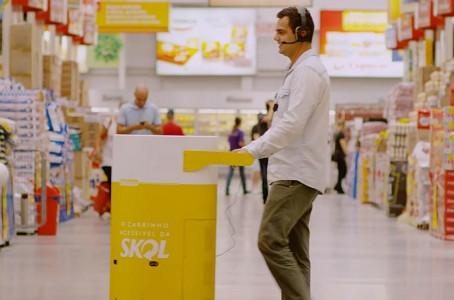 Skol cria carrinho para pessoas com deficiência visual