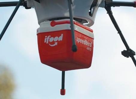 iFood terá entregas via drone a partir de outubro