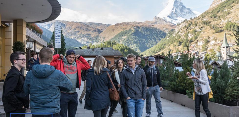 Ein Berg an kreativen Köpfen - Zermatt Impulse