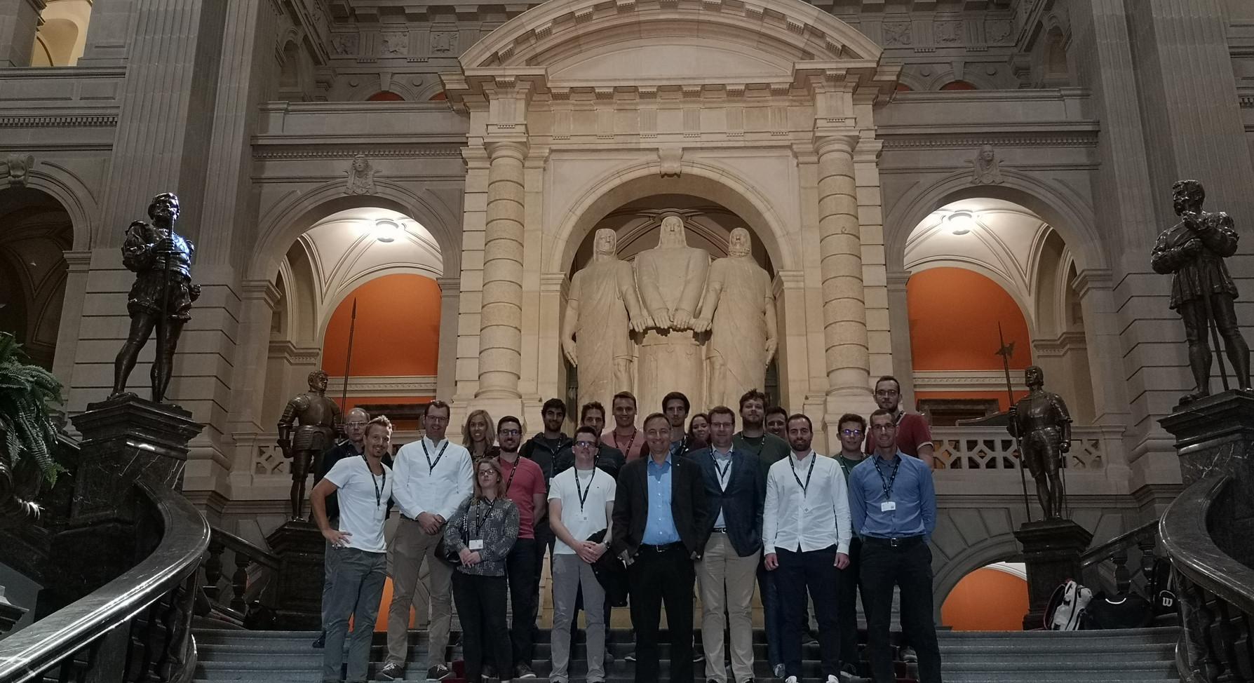 Besuch im Bundeshaus Bern