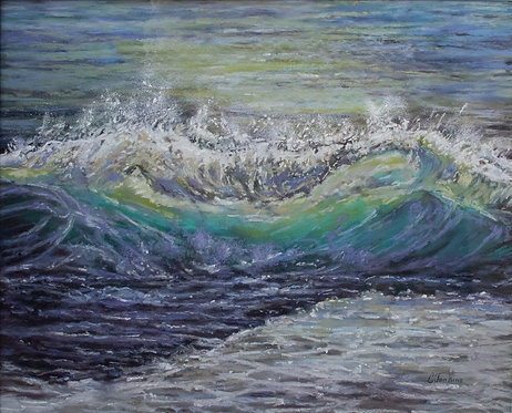 Moonlight on the Waves by Cindy Jenkins