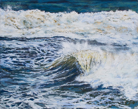 Triptych - Nor'easter I by Cindy Jenkins