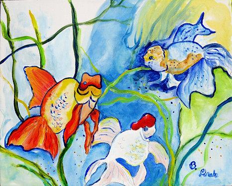Fantails by Betsy Drake Hamilton